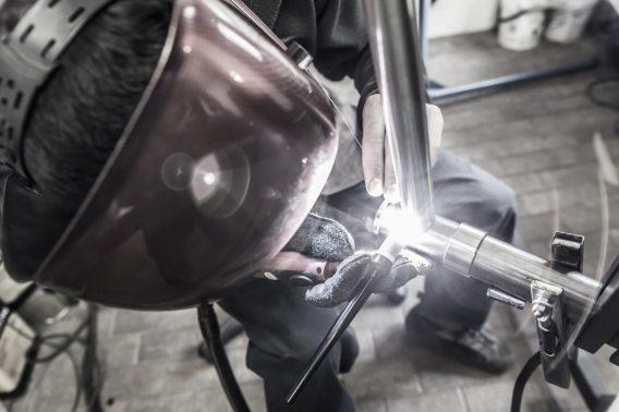 bice bicycles dario columbus tig weld framebuilder bespoke handmade pegoretti legor