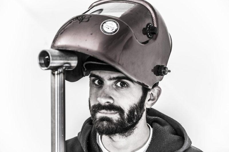 bice bicycles dario columbus tig weld framebuilder bespoke handmade mask - ABOUT BICE -