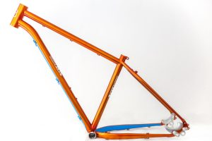 offroad bespoke handmade bice bicycles orange campari