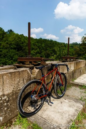 Divide OffRoad Gravel Steel Bice Bicycle tuscany trail bikepacking