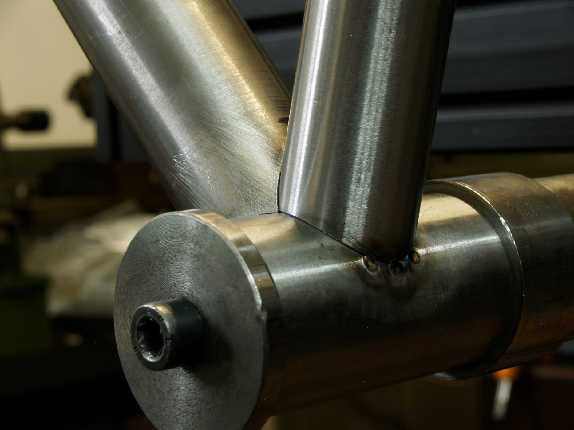 bottom bracket mitering and pointing for bespoke handmade framebuilding