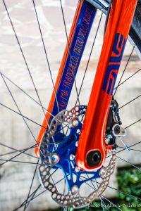 divide tuscany trail bikepacking offroad gravel frameset with enve fork