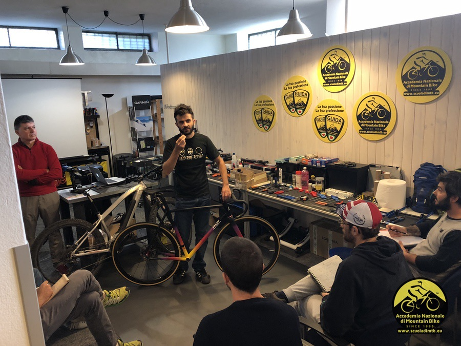 Prof Bice – Bicycle Workshops at Milano Bike City and Accademia Nazionale MTB