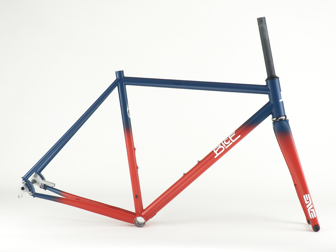 Sliver Electronic-ready Steel Road Racing Frame - Bice Bicycles