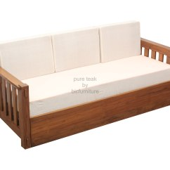 Wooden Sofa Bed Modern Legs Indian Home The Honoroak