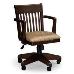 Teak Wood Revolving Chair Adams Stackable Adirondack Chairs Office Dark Brown Ws 40 Details Bic Furniture India