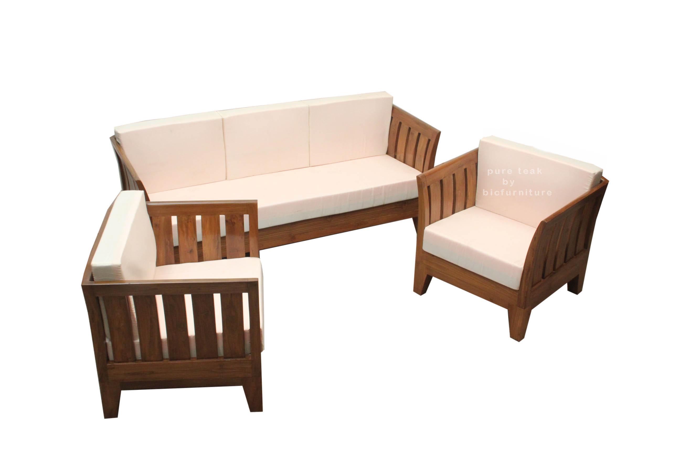 wooden sofa sets designs india cleaning san jose teak wood set ws 60 details bic furniture home range sofas