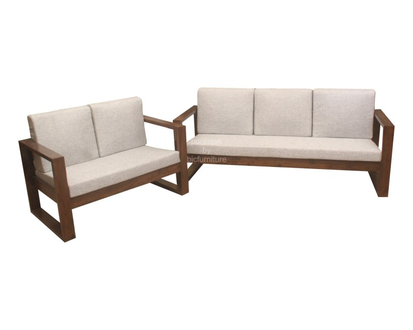 Simple Wooden Sofa Set Designs India