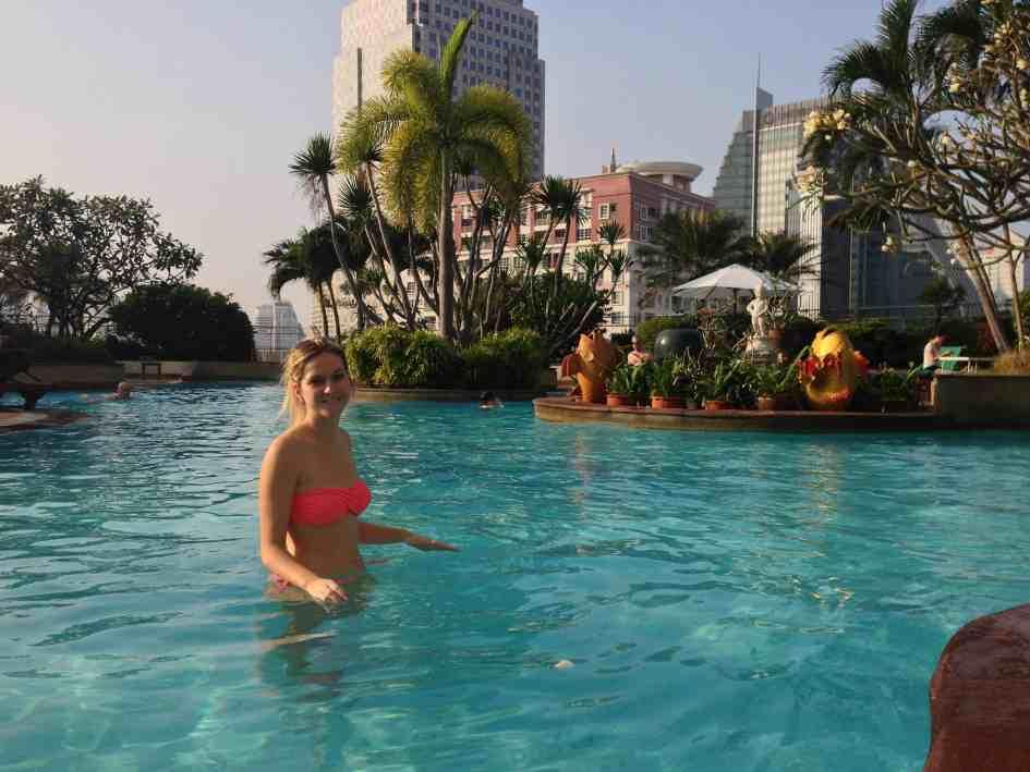 Windsor Suites Bangkok Blog voyage Biche Around The World
