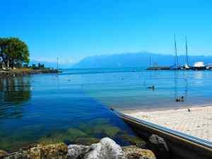 Lausanne lac léman