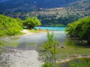 Kournas lake Crète