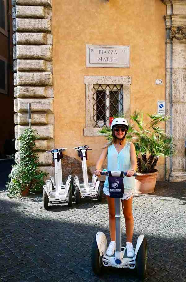 Segway à Rome