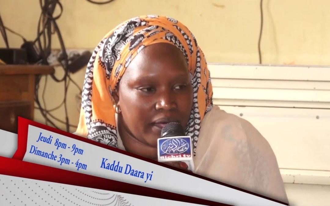 Bande Annonce Kaddu Daara Yi institut Darou Rakhman Sounatou Rassoul