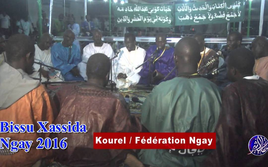 Bissu Xassida Ngay 2016 Kourel Fédération Ngay Bichri tv Partie3