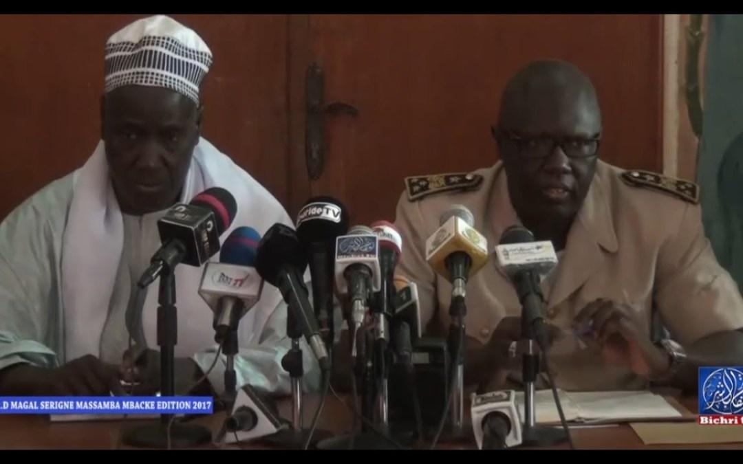 C R D Magal Serigne Massamba Mbacke 02 Mai 2017 Dirigé par S.Fallou Mbacké Ibnou S. Mahmadane