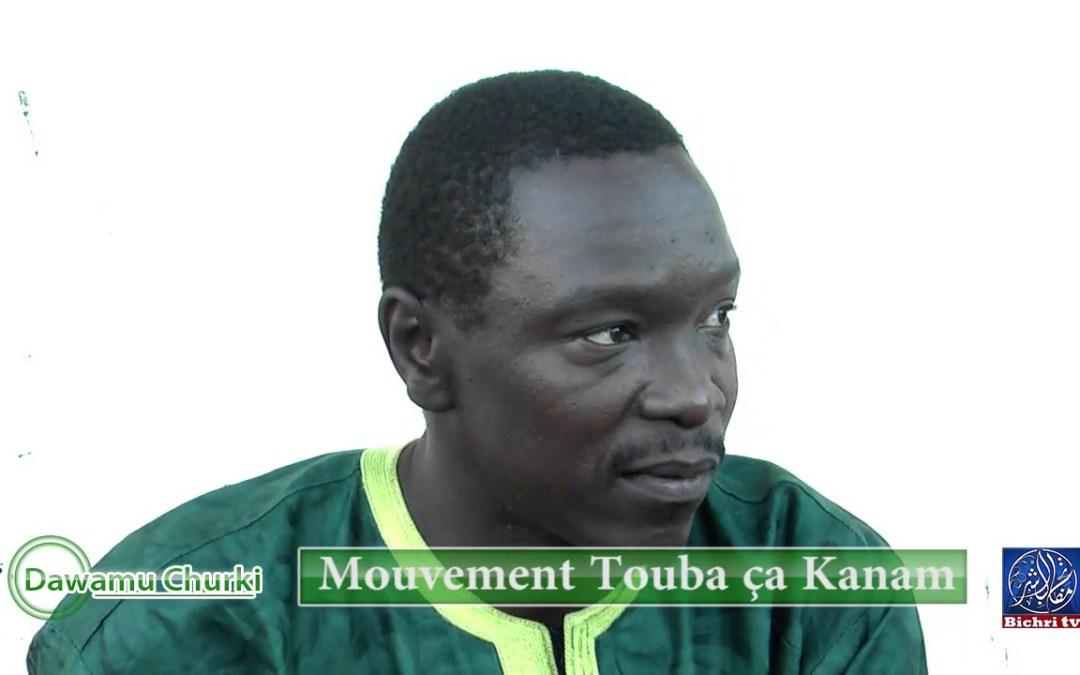 Dawamu Chukri S Moustapha Ndiaye recevait le mouvement Touba ça kanam