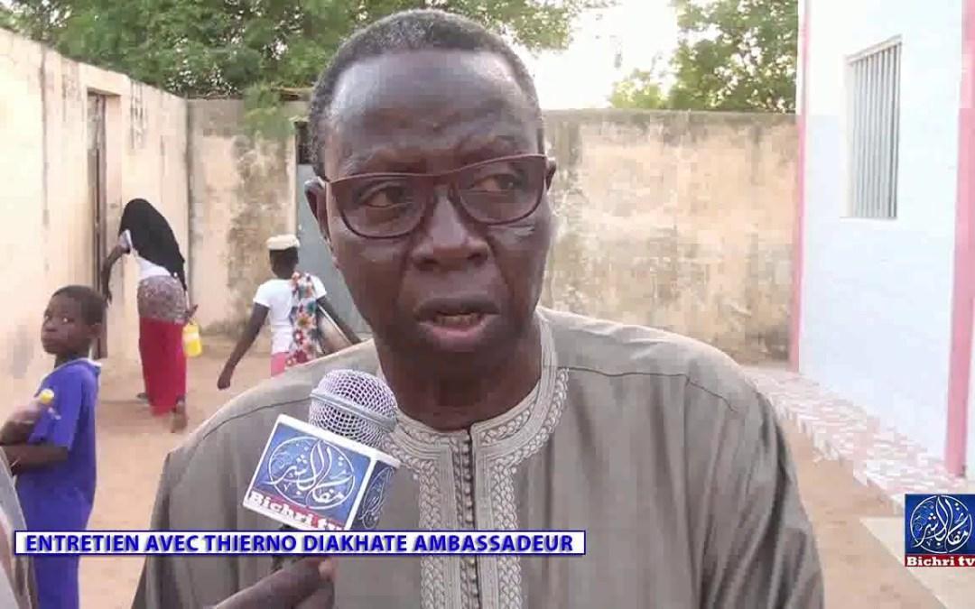 Entretien avec Thierno Diakhaté Ambassadeur
