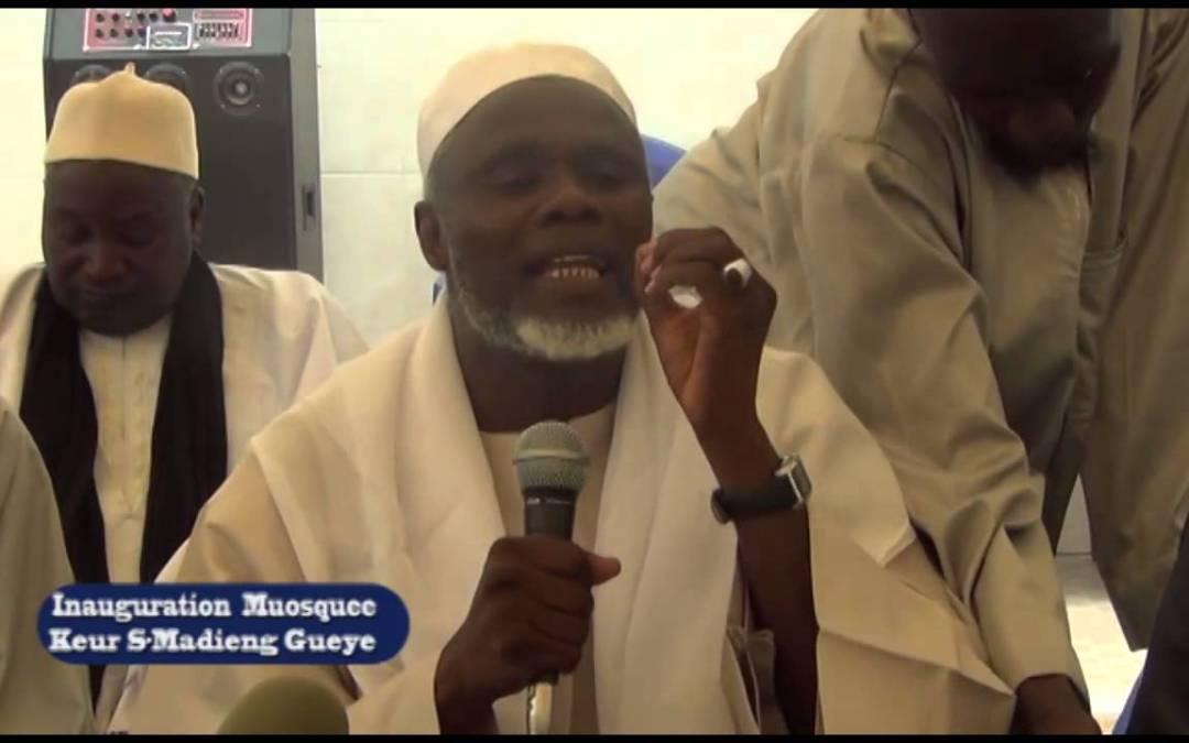 inauguration mosquée Keur Serigne Madieng Gueye 29 Mai 2015