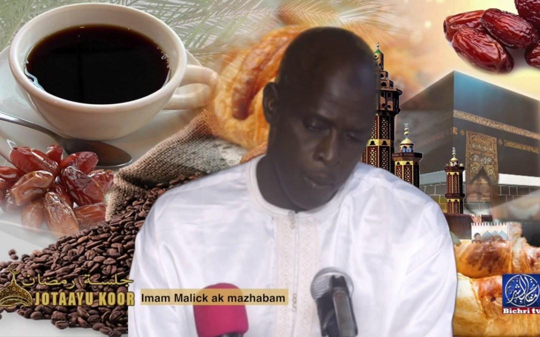 Jotaayu Koor Théme Imam Malick ak Mazhabam