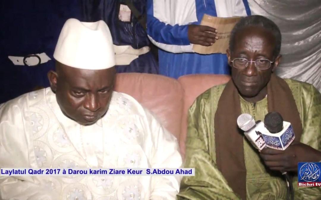 Laylatul Qadr 2017 à Darou Karim Ziare Keur S abdou Ahad