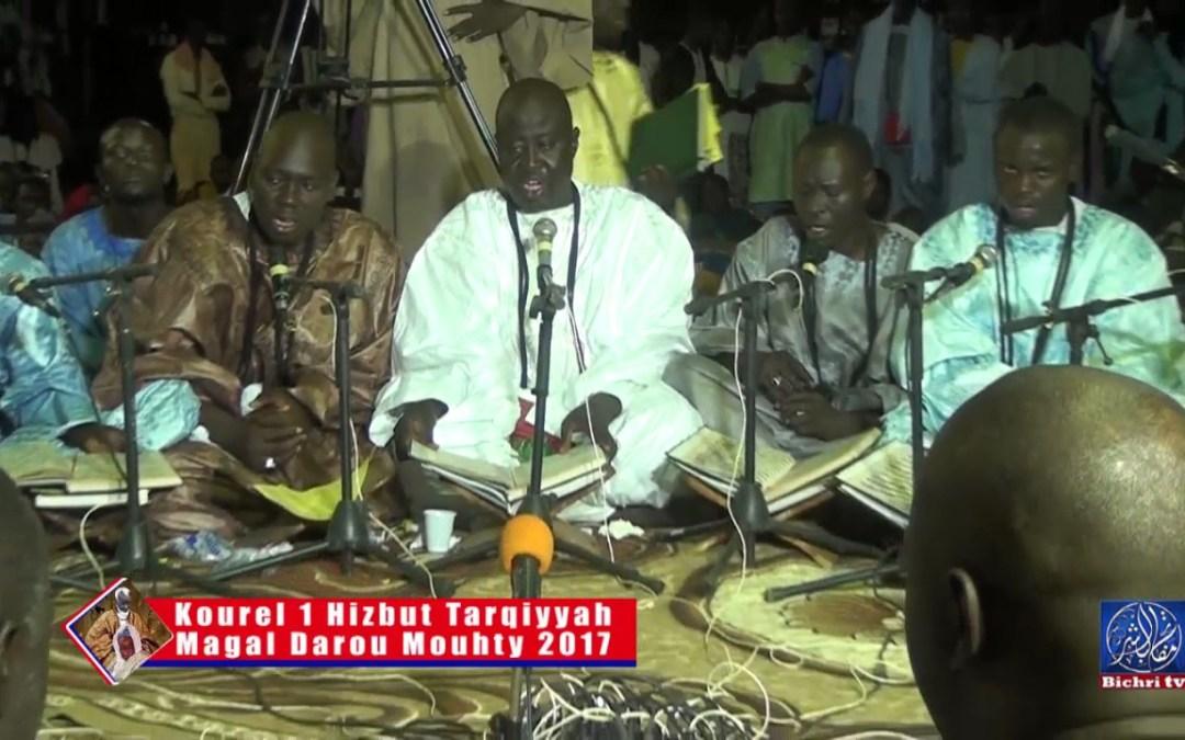 Magal Darou Mouhty 2017 | Kourel 1 Hizbut Tarqiyayah Billeuzi zaba… ya kitabal karimi