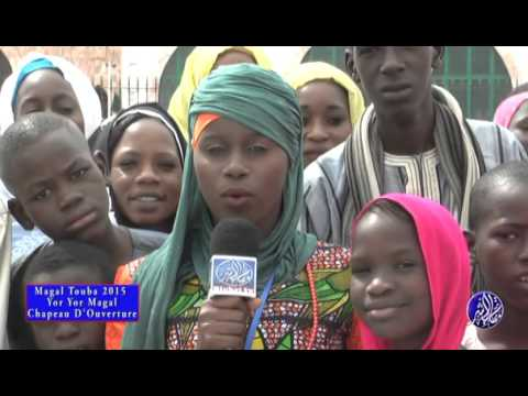 Magal Touba 2015 Chapeau de mouhamed Fall, Diamilatou et Aicha Diakhate
