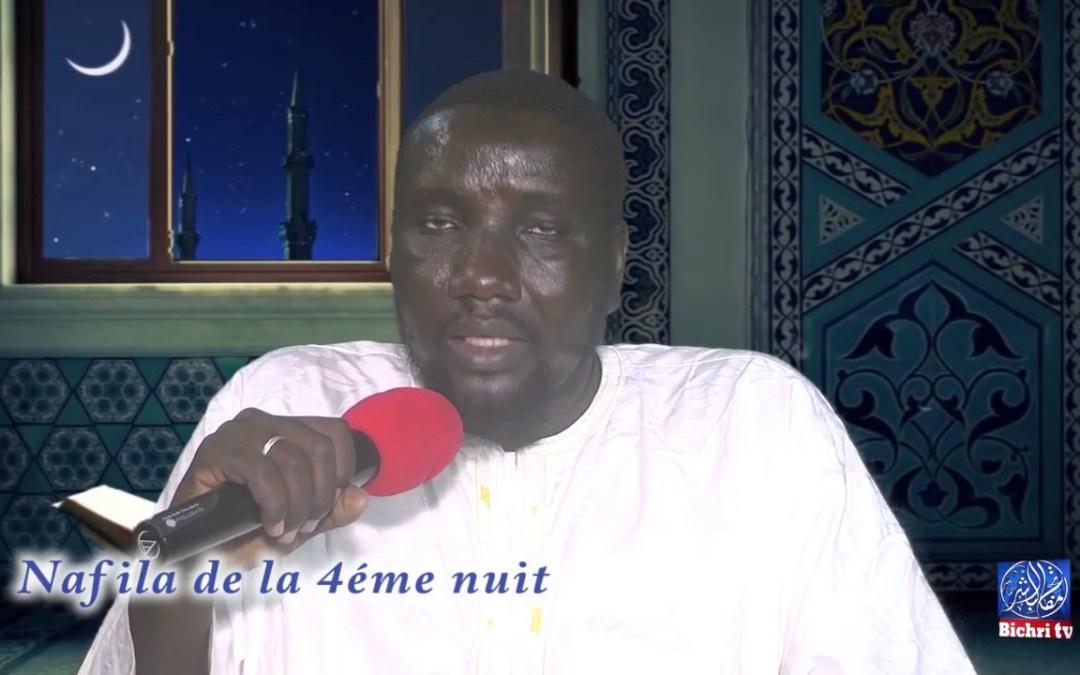 Nafila de la 4eme nuit du mois de Ramadan sur bichrui TV