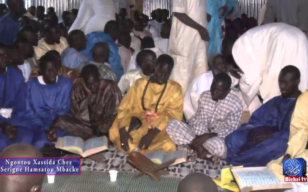 Ngontou Xassida Chez  Serigne Hamsatou Mbacke P2 sur 2 Bichri TV