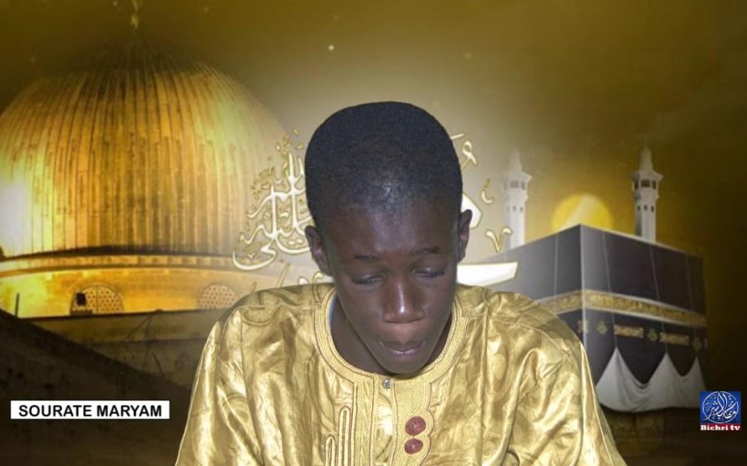 Récital de Coran  Mouhamad Al Amine Thior Bichri TV