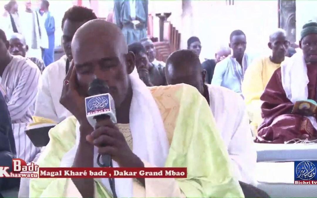 Replay Magal Khare Badr 17 Ramadan 1438 / 2017  Grand Mbao Sipres part 01