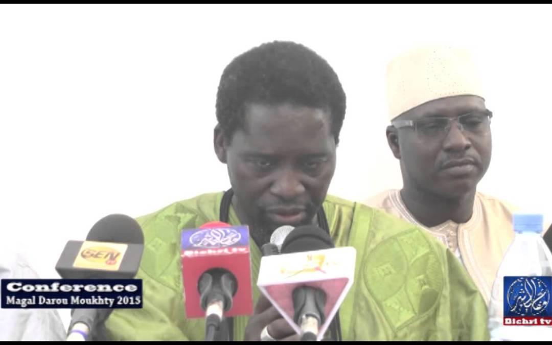 Responsabilité Des Marabouts et Politiques au Sénégal Conférence Magal darou 2015 P/1