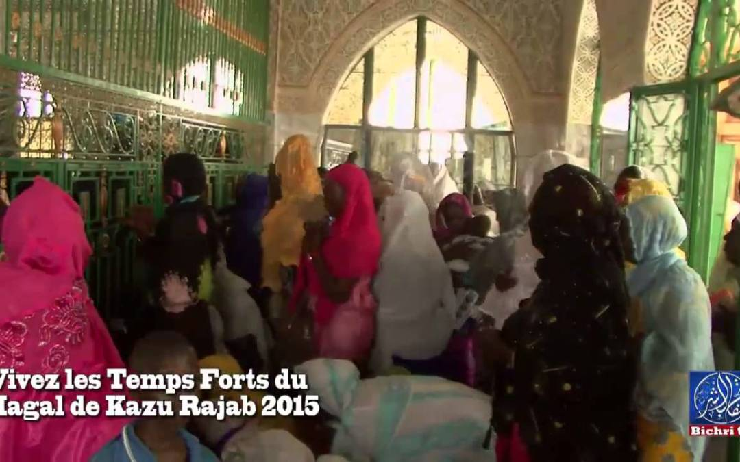 Temps Fort Magal Kahzu Rajab 2015 Sur Bichri TV