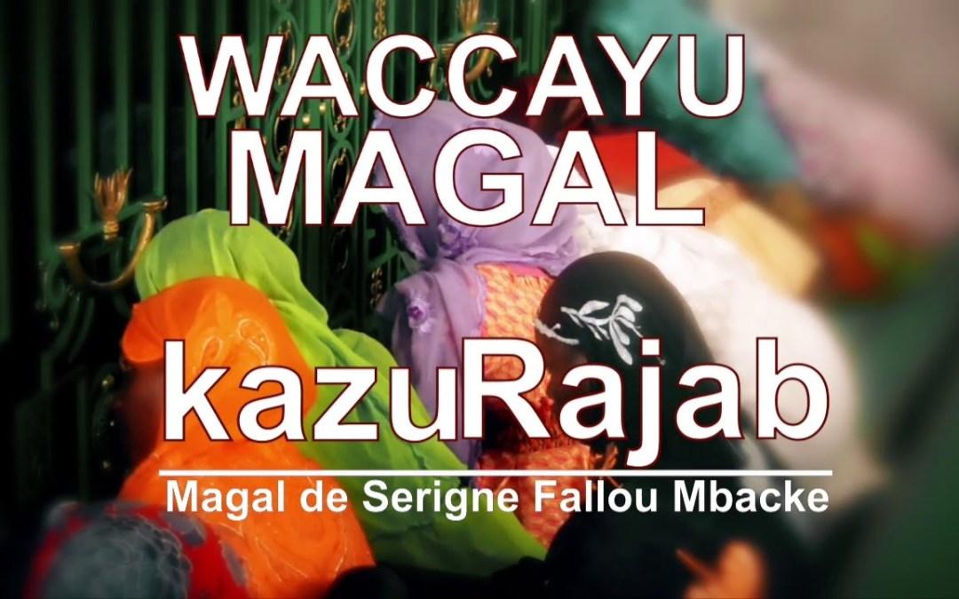 Waccayou Magal Kazu Rajab Keur Sokhna Daba Mbacké Fallilou à Diourbel  Ziar Dahira Wilaaya