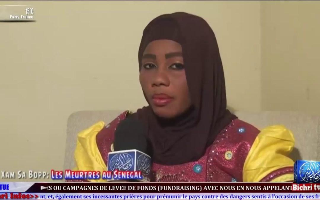 """""""Xam sa Bopp"""" une toute nouvelle emission avec Sokhna Yacine Diouf. Theme: Les meutres au Senegal"""