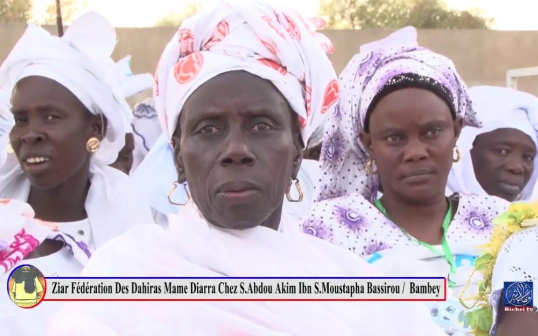 Ziar Fédération des Dahiras Mame Diarra Du departement de Bambey partie 02