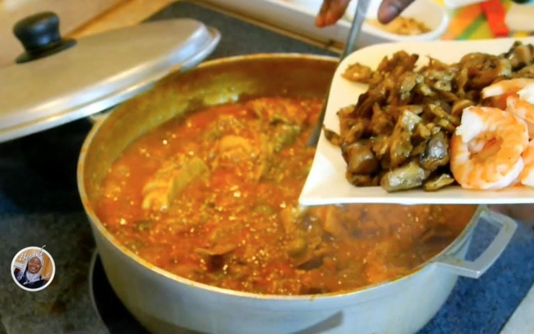 """Bernde ak Sokhna Billo"" Saison 2 Cuisine Sénégalaise | Plat: Supu Kanje + Dessert Fruit Pizza"