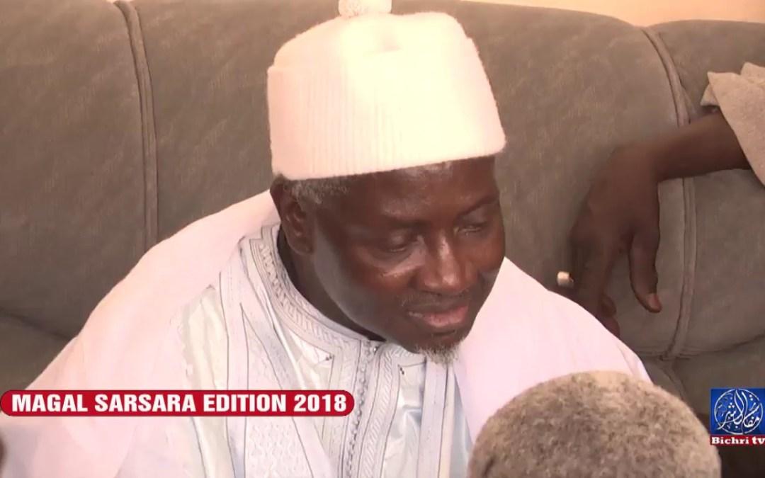 Magal Sarsara edition 2018 Ouverture de Serigne Kosso SEYE Bichri TV