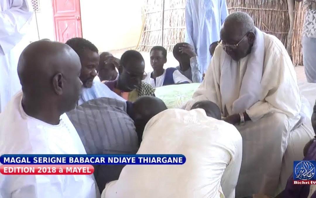 Magal serigne babacar ndiaye thiargane ziars chez Serigne Daouda Ndiaye Khalif