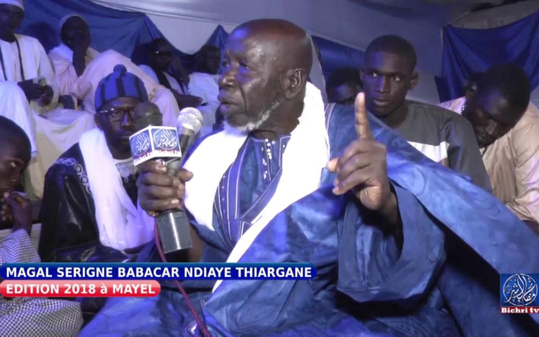 Magal serigne babacar ndiaye Thiargane Cérémonie Officielle