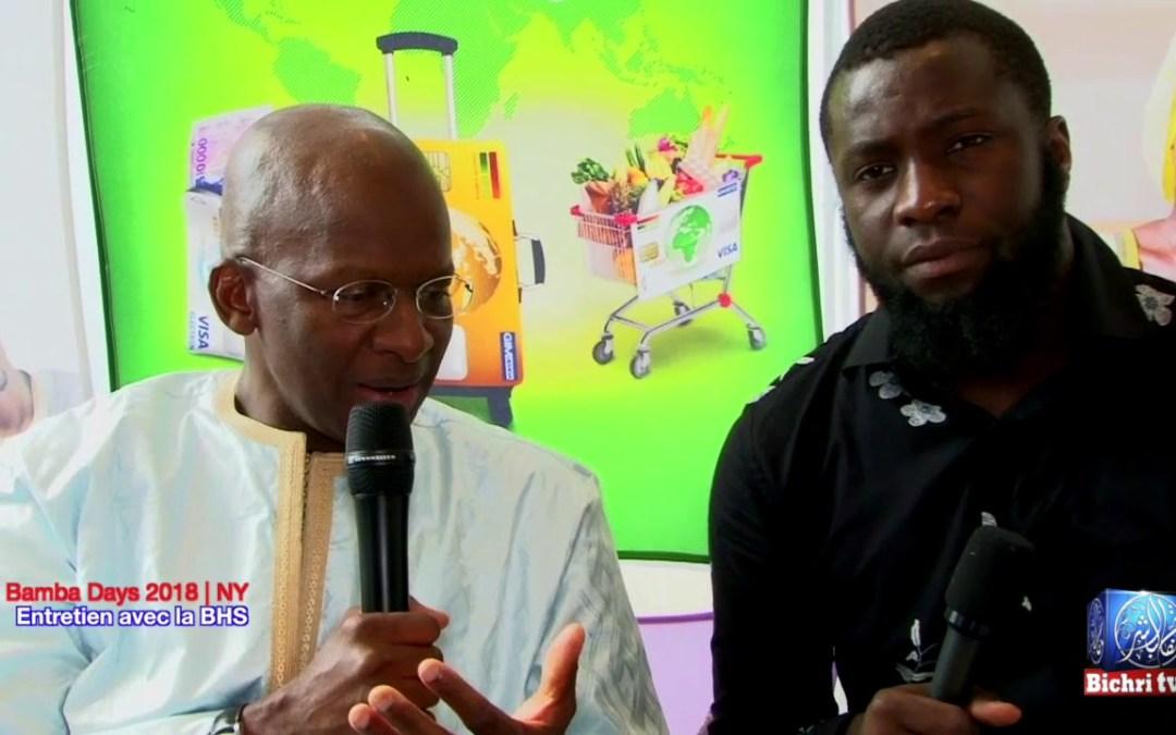 Bamba Days 2018 NYC   M. Bocar SY: la BHS au Service des sénégalais de l'extérieur