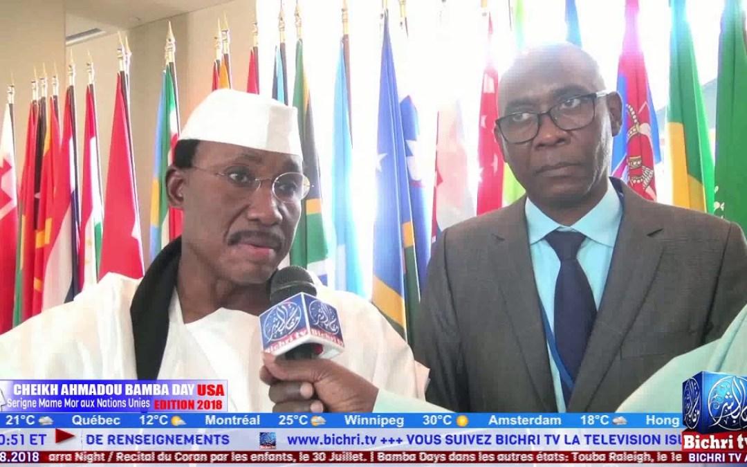 Bamba Days 2018: Serigne Mame Mor Mbacke aux Nations Unies