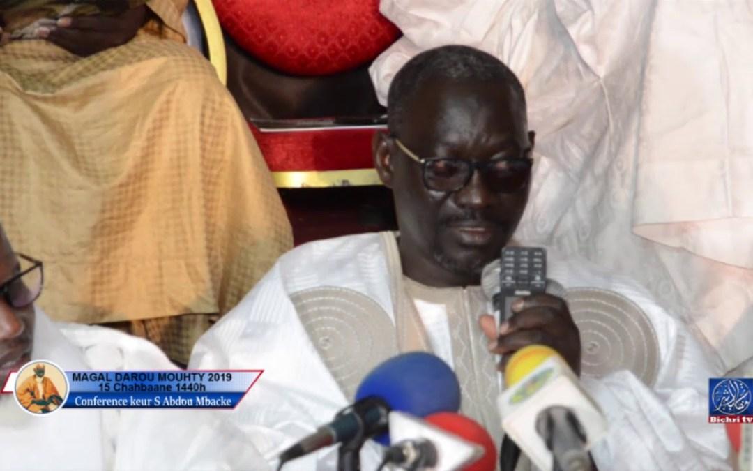 Conference keur serigne cheikh khady kadu serigne cheikh Abdou Mbacke
