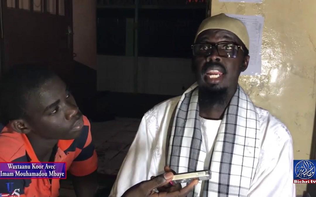 "Waxtaanu Koor Avec Imam Mouhamadou Mbaye 19 Disso ""Communication"" Dans l'islam"