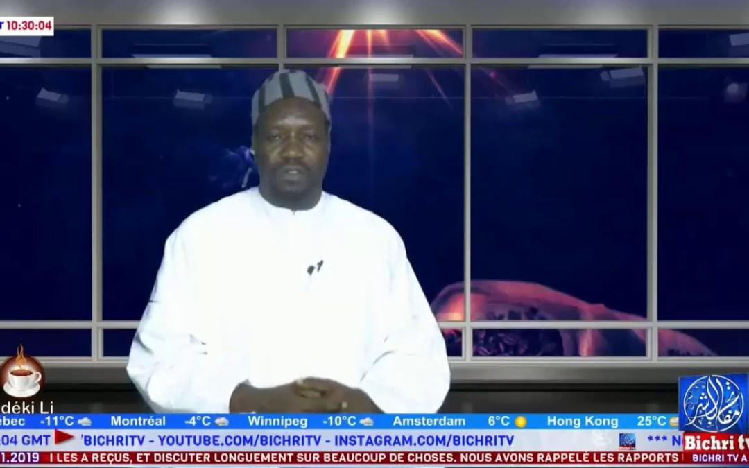 LIVE   Emission Matinale Ndeki li   Thème : Waccayou Gamou