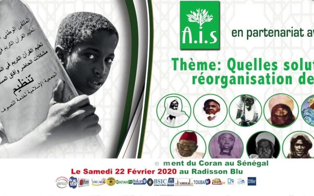 LIVE | A.I.S – Forum National sur l'enseignement du Coran au Senegal