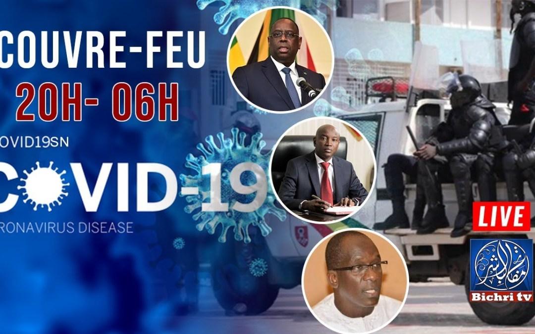 🔴En direct | COVID19 : Situation du Jour – Couvre feu – Prière à Touba