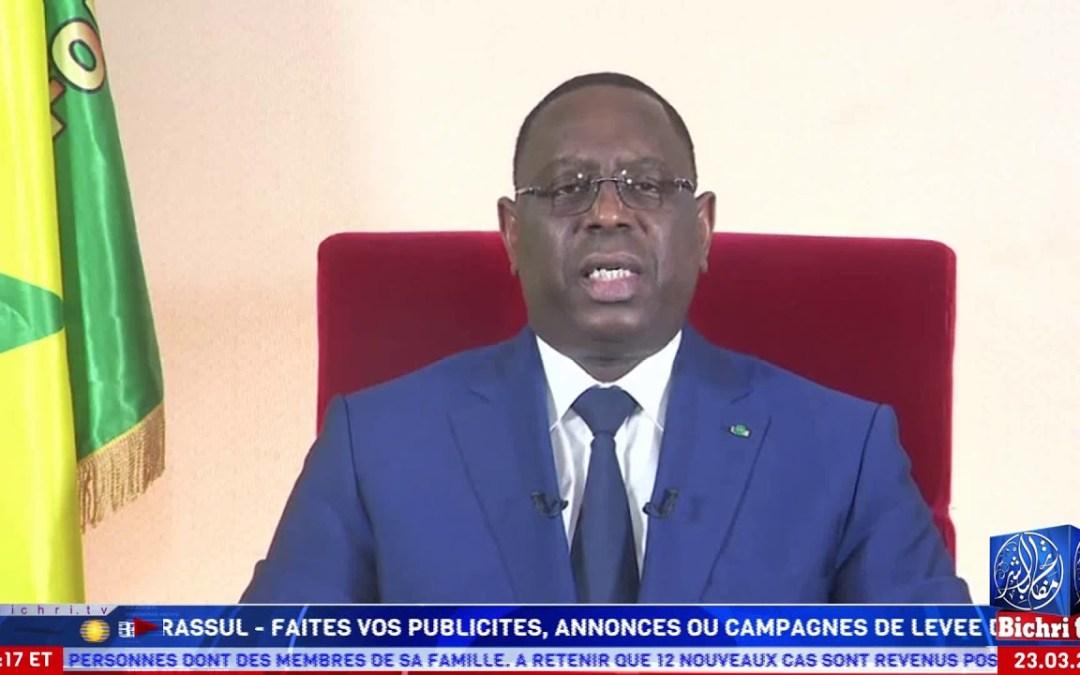 [Français] le Message à la Nation du Président Macky Sall | COVID19, le Sénégal en État d'urgence