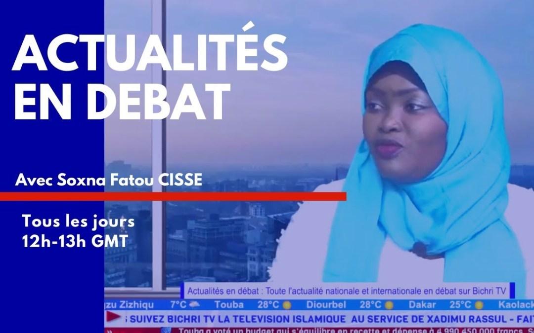 LIVE | Actualités en Débat | COVID-19: Etat d'urgence, l'opposition au Palais