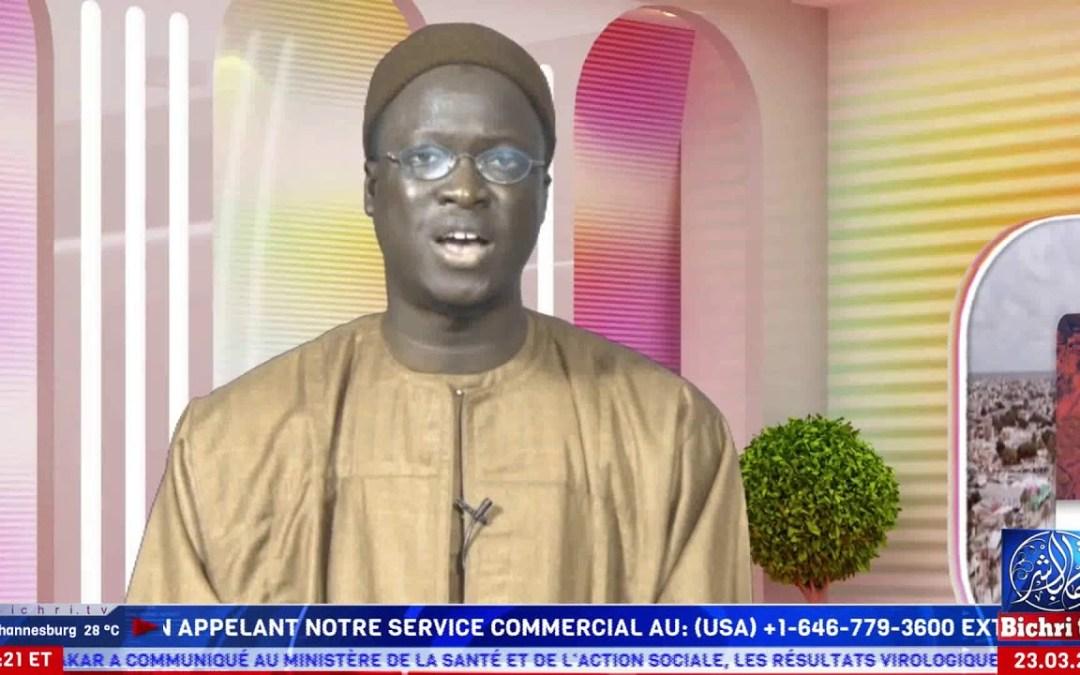 Magal Kazu Rajab 2020   Plateau Spécial Soxna Khady Diouf reçoit Abdoulaye Diop Bichri