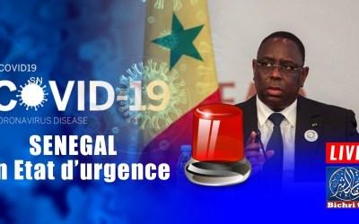 🔴En direct   COVID19 UPDATE :Situation du jour Vendredi 03 Avril 2020